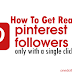 Buy 300 Pinterest Followers For $1 [Real & Permanent]