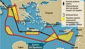 κυπριακή ΑΟΖ eastmed
