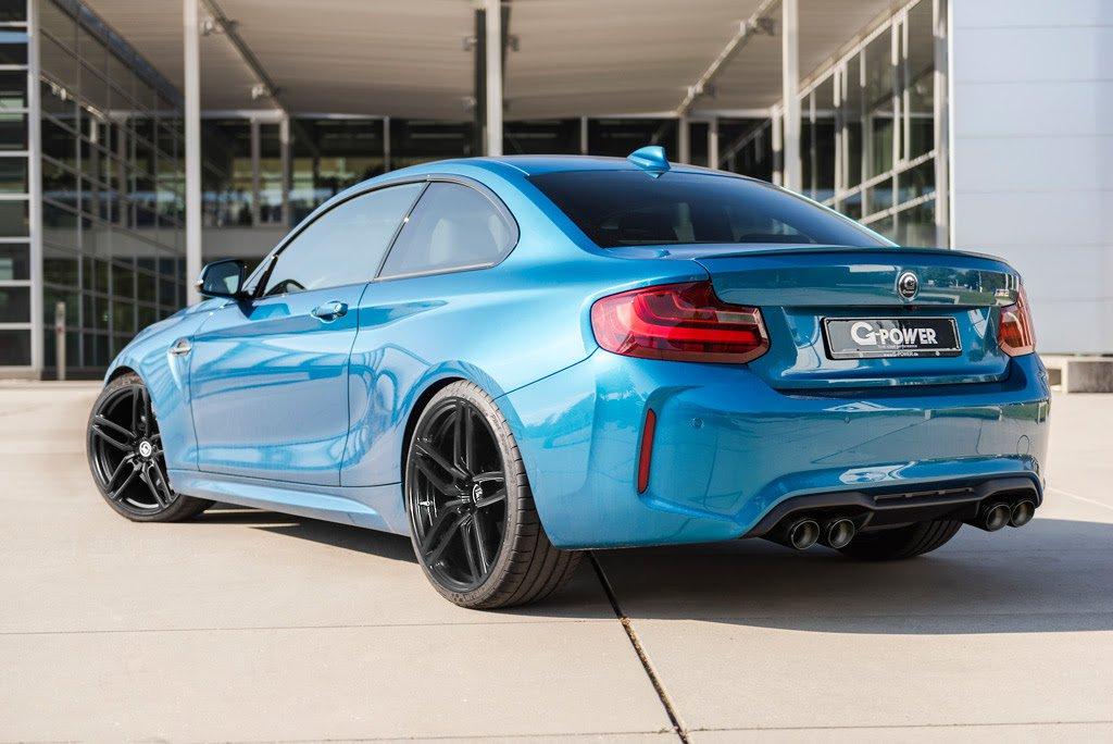 BMW M2 G-Power tył