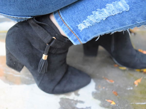 Style | Tassel Strap Ankle Boots