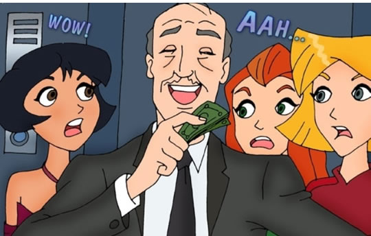 3 Espiãs hentai