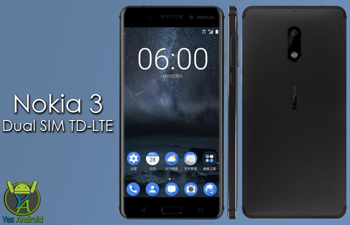 Nokia 3 Dual SIM TD-LTE Full Specs Datasheet