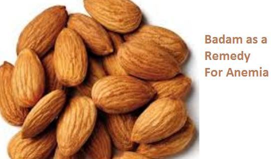 Health Benefits of Almond or Badam as a Remedy For Anemia