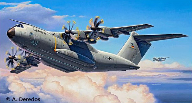 The Modelling News: Build review: Revell's Airbus A400M Atlas in 1
