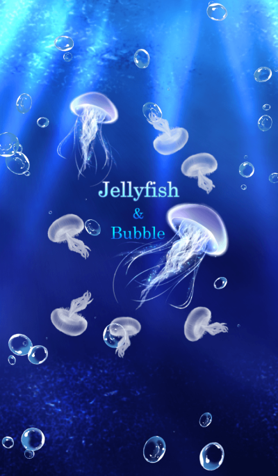Jellyfish and sea foam 2