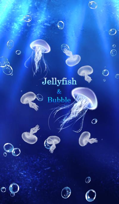 Jellyfish and sea foam 2