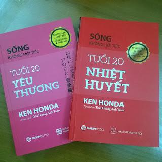 Bộ sách Sống không hối tiếc Ken Honda