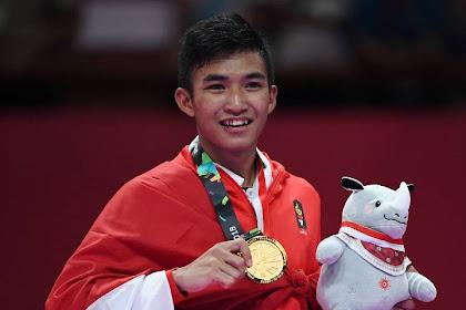Mantap! Rifki Ardiansyah Peraih Emas di Asian Games Ternyata Anggota TNI