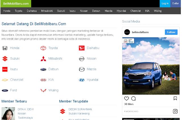 Dealer Mobil Baru Murah di Indonesia