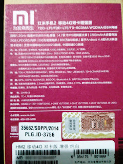 HP Xiaomi Redmi 2 Prime Garansi Distributor