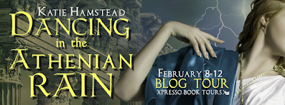 Blog Tour: Dancing in the Athenian Rain by Katie Hamstead ~ Teaser + Giveaway (INT)