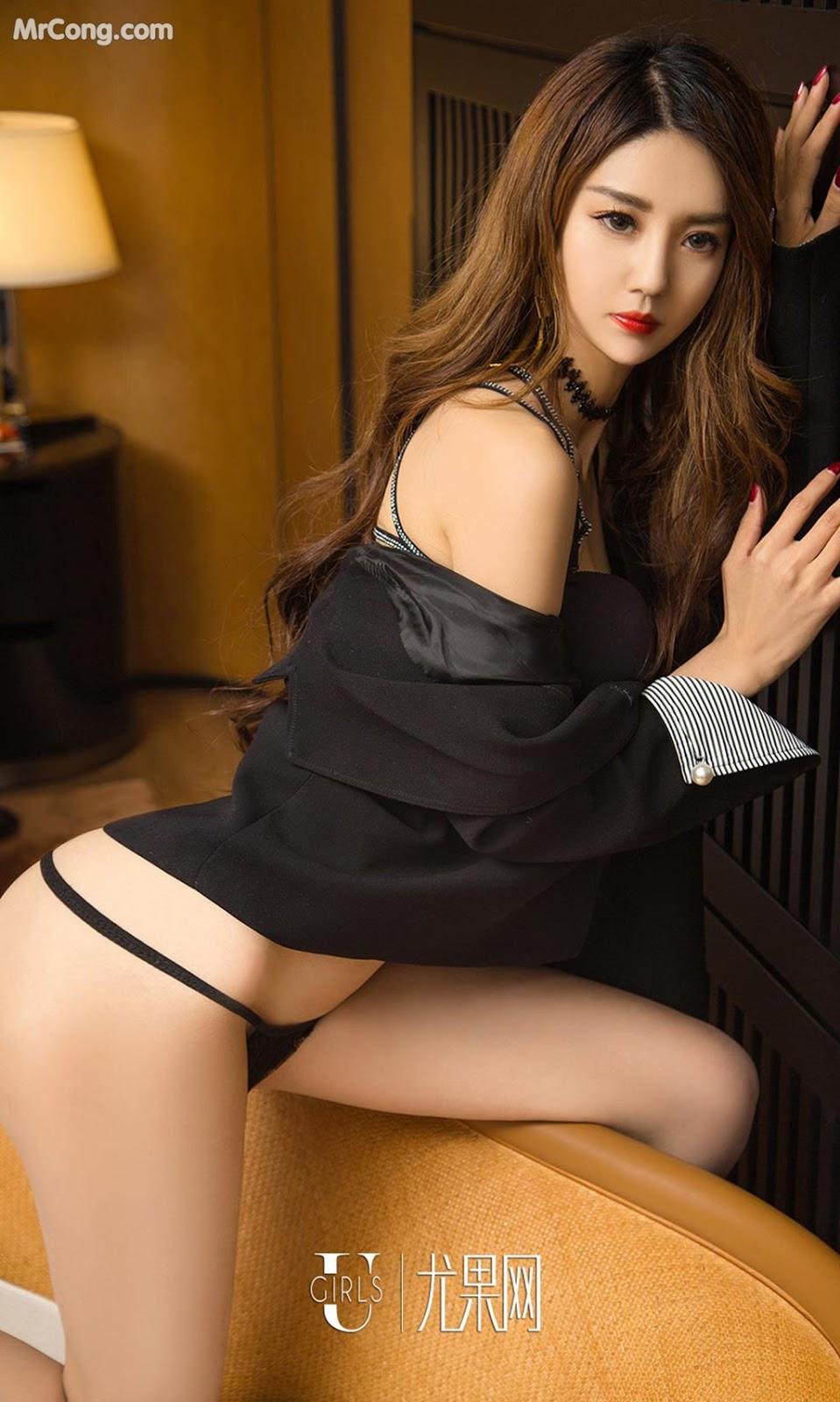 Image UGIRLS-Ai-You-Wu-App-No.1060-Li-Ya-MrCong.com-005 in post UGIRLS – Ai You Wu App No.1060: Người mẫu Li Ya (丽娅) (35 ảnh)