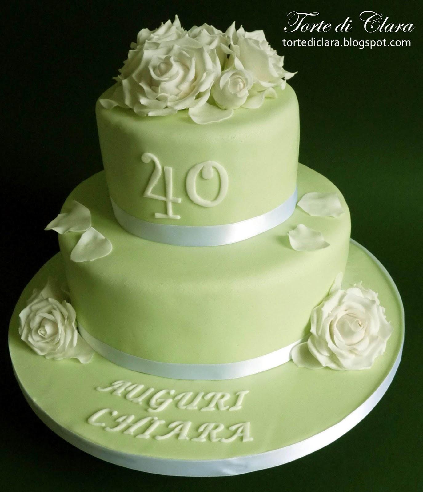 Molto Torte di Clara: Rose cake (11) RD41