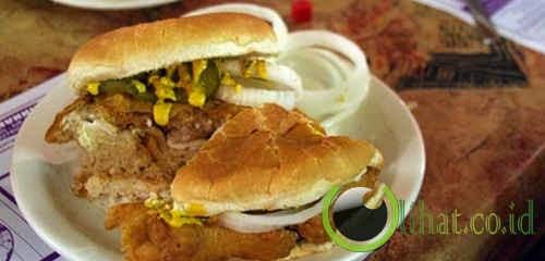 Sandwich Otak Goreng