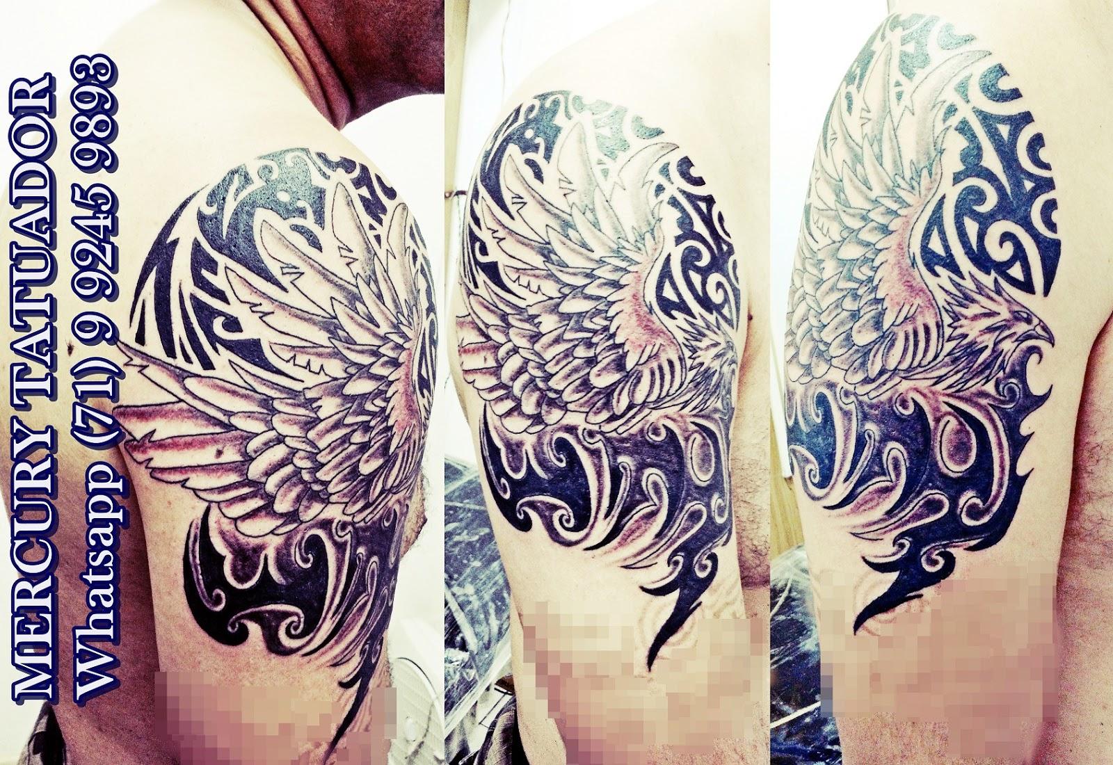 Itapu tattoo fenix tribal for Fenix tribal tattoo