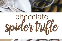 Halloween Chocolate Spider Trifle Recipe