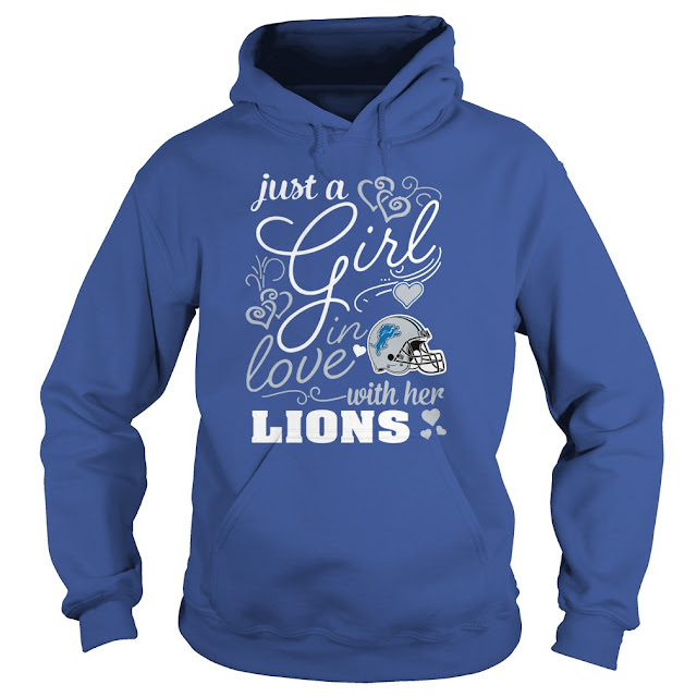Detroit Lions - Just A Girl In Love With Her Shirt