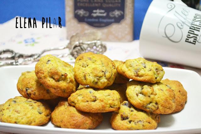 Cookies de dátiles, pistachos y azahar