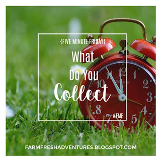 Five Minute Friday~ What Will You COLLECT?