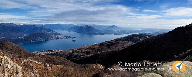 Lago maggiore dall'Alpe Nuovo