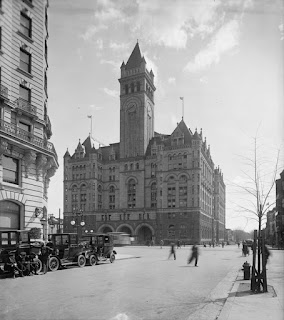 Old Post Office Pavilion in 1911 by Harris & Ewing