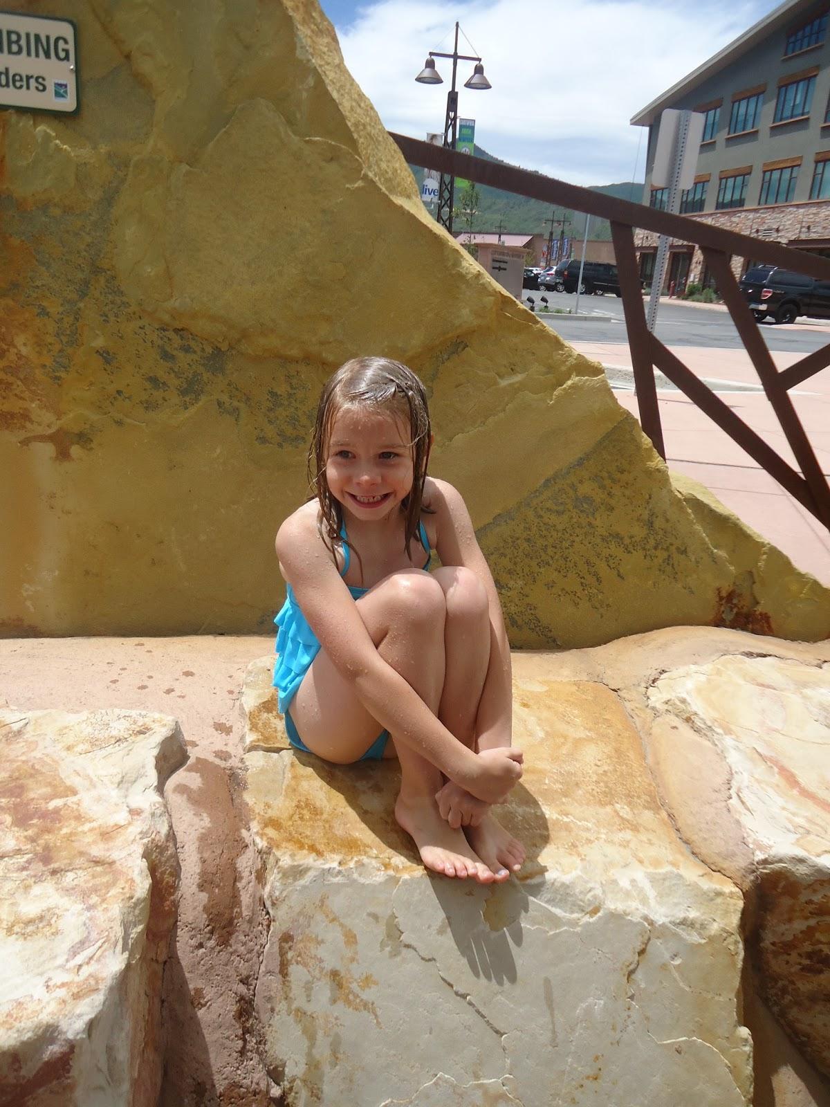 Cline S Corner Park City Splash Pad With The Hurst Girls