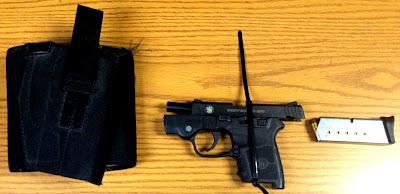 Loaded Firearm Detected by AIT at BDL