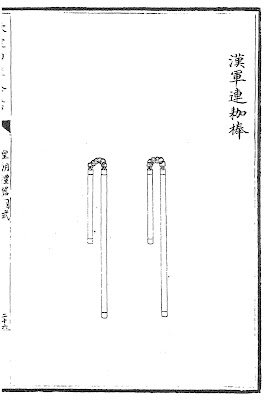 Qing Dynasty Dual Wielding Flails