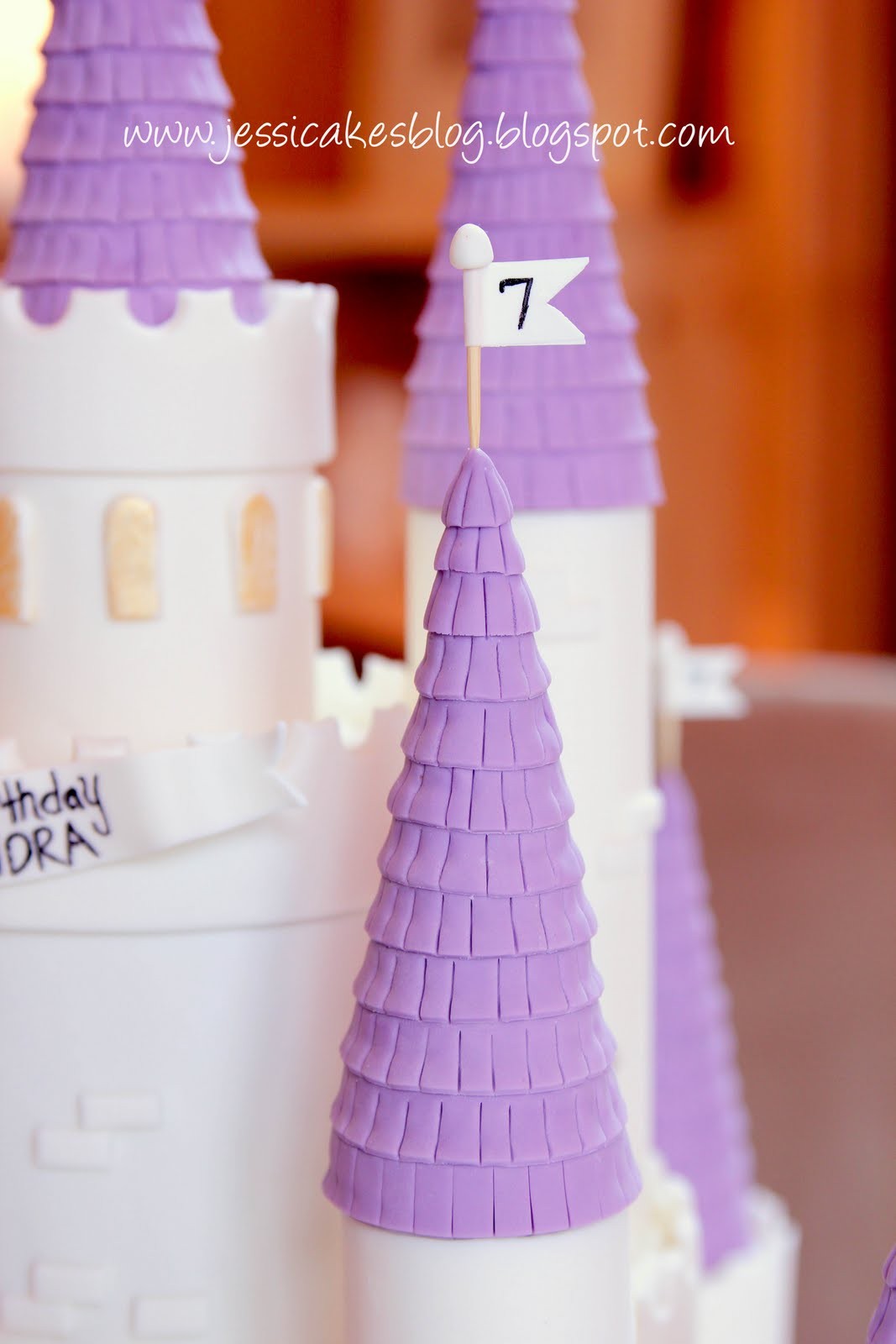 the castle cake - jessica harris cake design