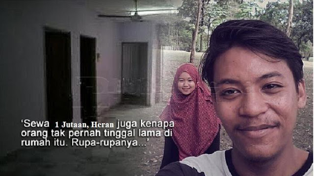 Sungguh KASIHAN : Kisah Pasangan Muda, Menyewa 'Rumah Hantu' Bekas Dukun