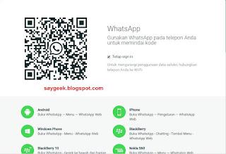 Cara menggunakan whatsapp di komputer tanpa instal mudah
