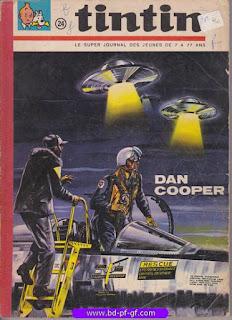 Tintin recueil souple, numéro 24, année 1965, à restaurer
