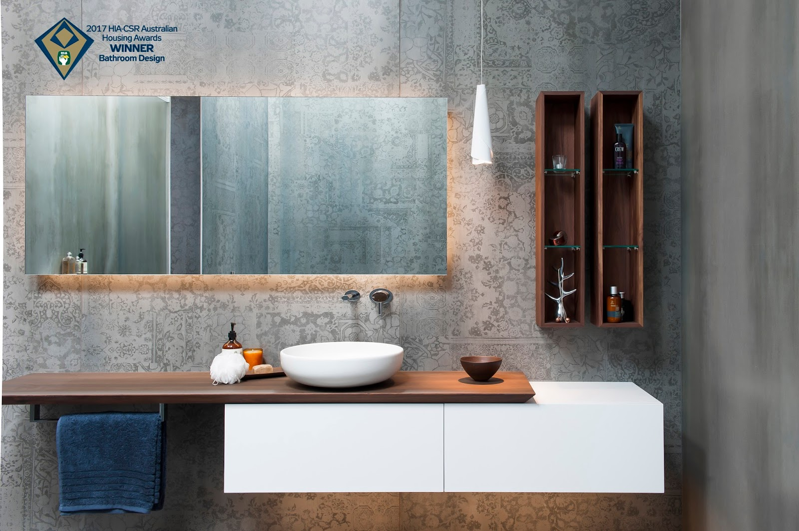 Minosa australian hia bathroom design of the year 2017 for Design own bathroom
