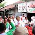 Yakin Bawa Perubahan untuk Sumut, Wanita Ini Tempelkan Stiker Djoss di Dadanya