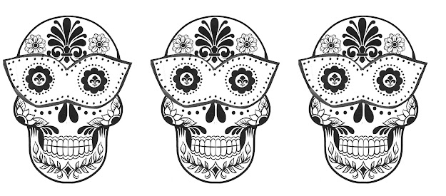 Printable Sugar Skull Coloring Pages Free Printable Graffiti