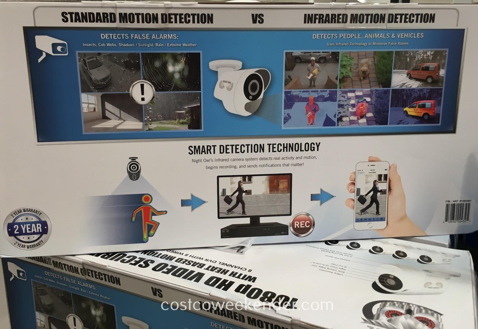 Night Owl C 881 Pir1080 8 Camera Hd Video Security System