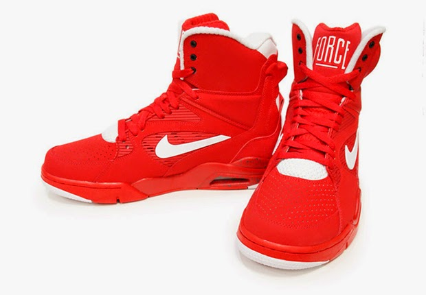 """8495c33593ec88 Nike Air Command Force """"University Red"""" University Red White-Black-Wolf  Grey 684715-600 02 07 15"""