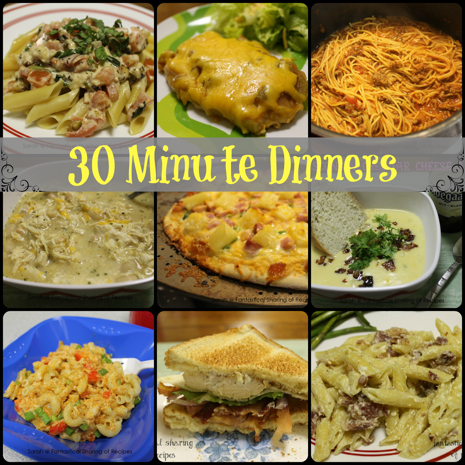 30 Minuten Küche Easy Cooking Fantastical Sharing Of Recipes 30 Minute Dinners
