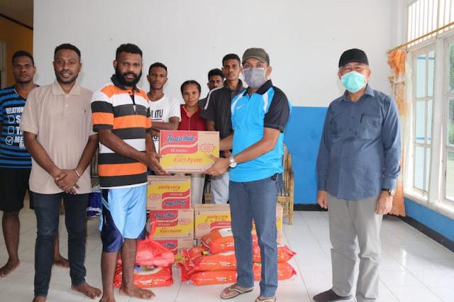 Pemkot Jayapura Salurkan Bantuan ke Mahasiswa di Asrama Kaimana dan Sorong