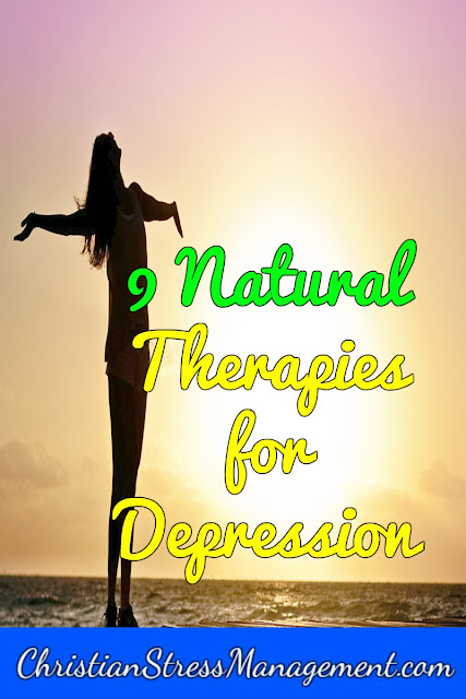 Natural therapies for treating depression