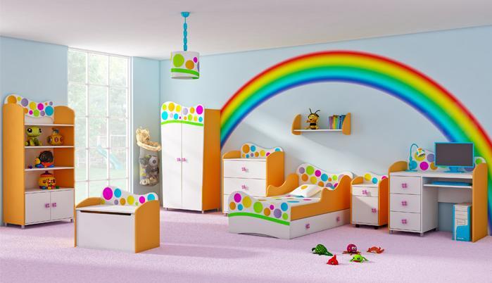 A mi manera c mo decorar la habitaci n de un beb for Colores de pared para habitacion