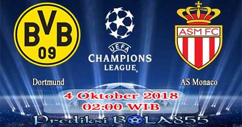 Prediksi Bola855 Dortmund vs AS Monaco 4 Oktober 2018