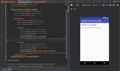 Como crear un RecyclerView en Android utilizando Kotlin