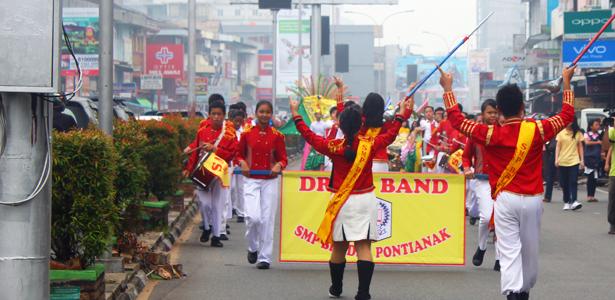 Karnaval Alt dan Title acara Hut Pontianak ke 244