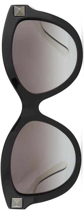 Valentino Rockstud-Front Cat-Eye Sunglasses
