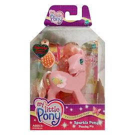 My Little Pony Peachy Pie Sparkle Ponies G3 Pony