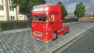 DAF XF 105 edit + new interior