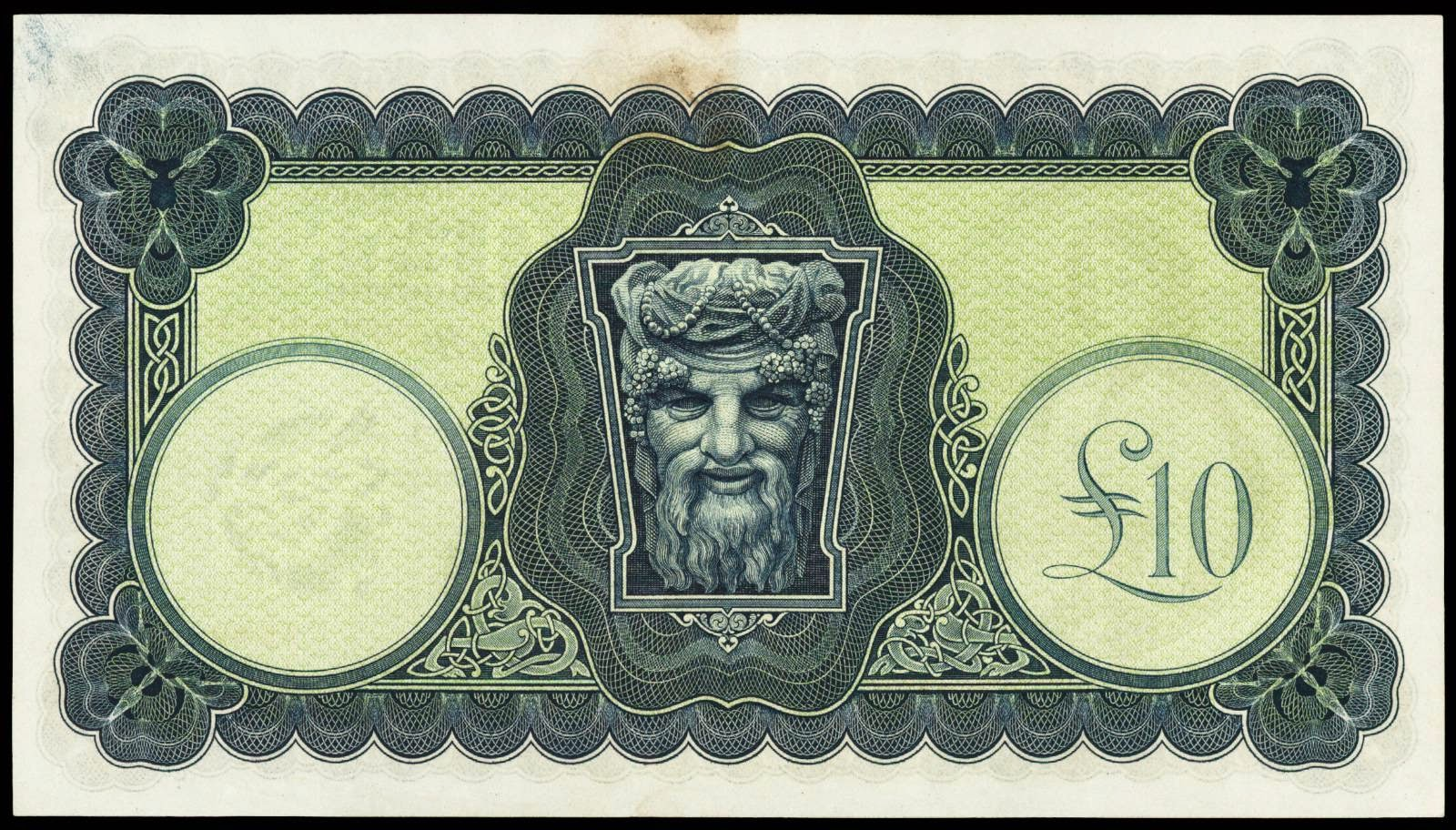 Banknotes of the Republic of Ireland 10 Pounds bill