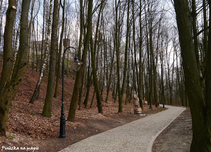 droga do Chęcin