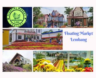 villa istana bunga dekat floating market lembang